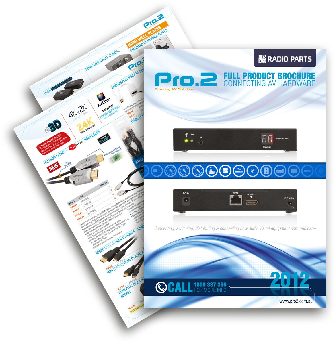 Pro2 2012 Catalogue Out NOW!